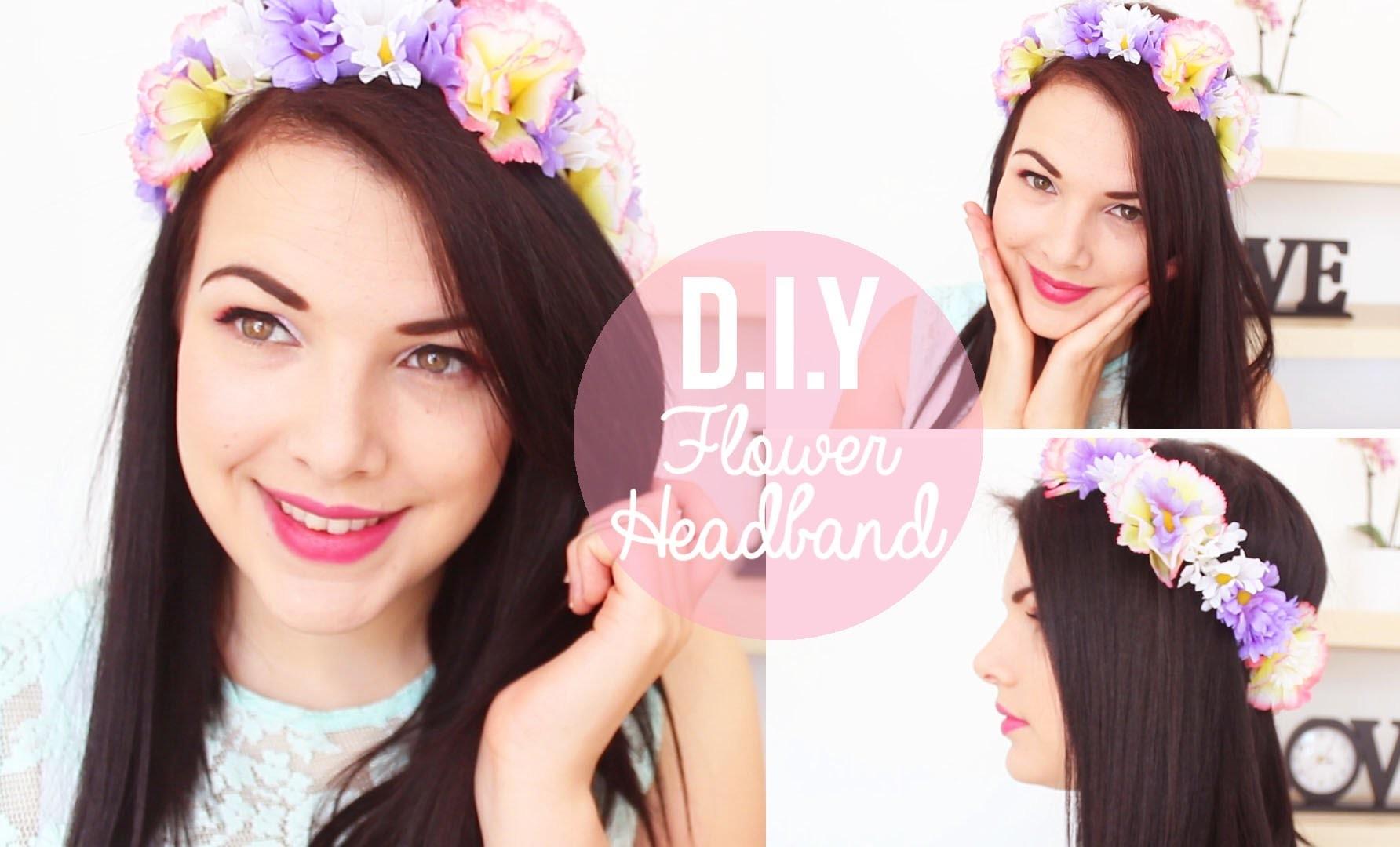 DIY: Flower Headbands