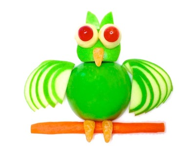 DIY: How to Make an Owl with an Apple (HD)