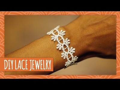 DIY Lace Jewelry - HGTV Handmade