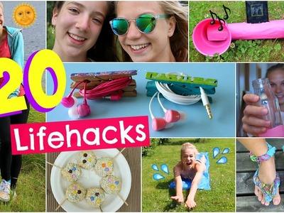 DIY´s you NEED to try! 20 Lifehacks+ Easy Snacks