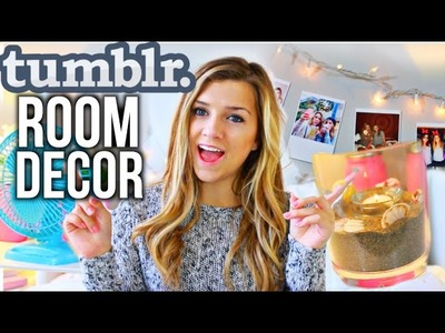 DIY Tumblr Inspired Room Decor!