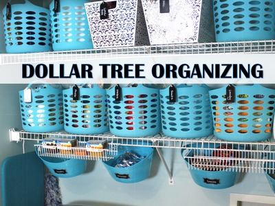 DOLLAR TREE ORGANIZING MAKEOVER!  | Pantry & Laundry Room