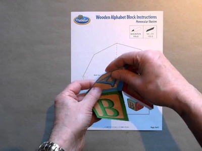 How to Assemble the Wooden Alphabet Block Illusion With Chris Morgan