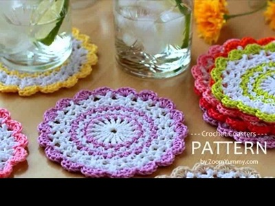 How to crochet a coasters