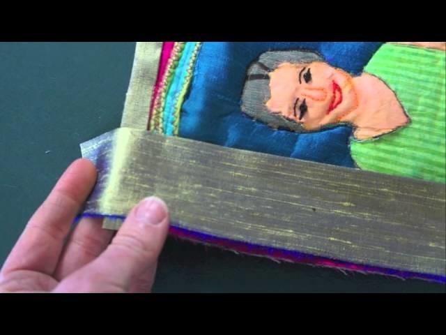 How to Make a Fabric Frame (Binding)