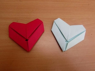 How to Make a Paper Letter Fold Heart - Easy Tutorials