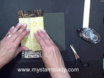 How To Make A String Tie Envelope