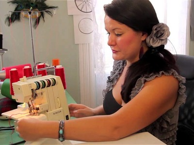 How to Measure Seams With a Singer Serger : Clothing Accessories Crafts