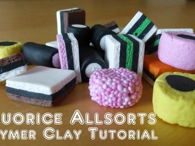 Liquorice Allsorts. Licorice Allsorts - Polymer Clay Tutorial
