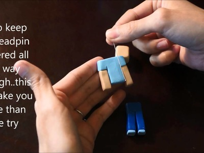 """Make your own """"Steve"""" Polymer Clay Tutorial!"""