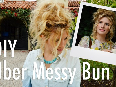 Messy Bun Hair Up-Do Tutorial with Mr. Kate