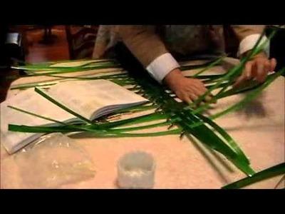 Nancy Today: Wool Drying basket 2 how to make ASMR basketmaking (basket making tutorial) hacer cesta
