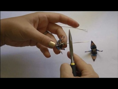 Paper Crane Earrings - Paper Crane Series Part 2