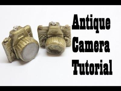 Polymer Clay Antique Camera Tutorial