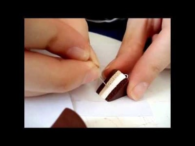 Polymer Clay Tutorial - How to Make Handmade Miniature Food Pastries from Polymer Clay