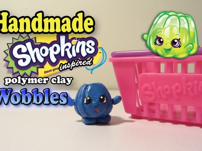 Season 1 Shopkins: How To Make Wobbles Polymer Clay Tutorial!