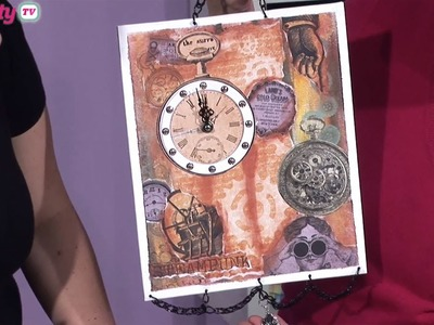 Steampunk Clock Project | docrafts Creativity TV