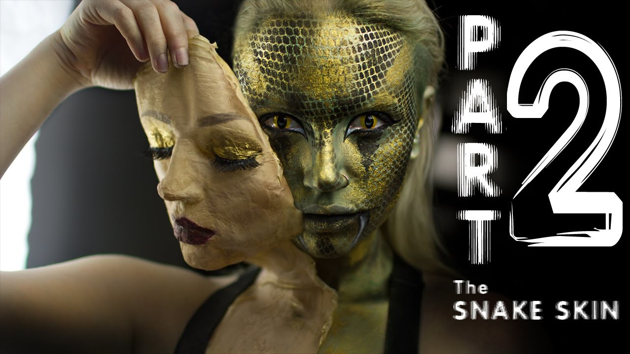 Under the skin Part 2: The Snake Skin [FX makeup tutorial]