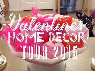 Valentine's Home Decor Tour 2015