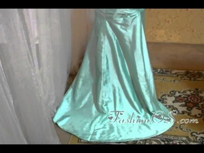 Best Apple Green Strapless High-low Prom Dress-Topdresses100.com