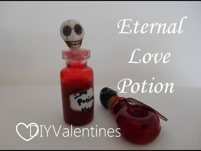 Bottle Charms: Eternal Love potion (aka fake blood)