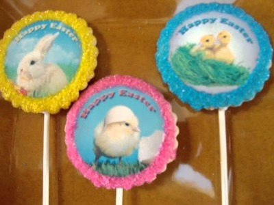 Cookie Favors and Theme Party Favor Ideas -  Personalized Cookies on a stick with photo!