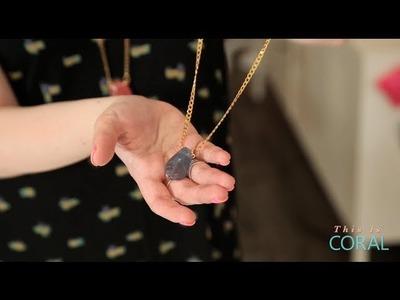DIY Gumdrop Necklace