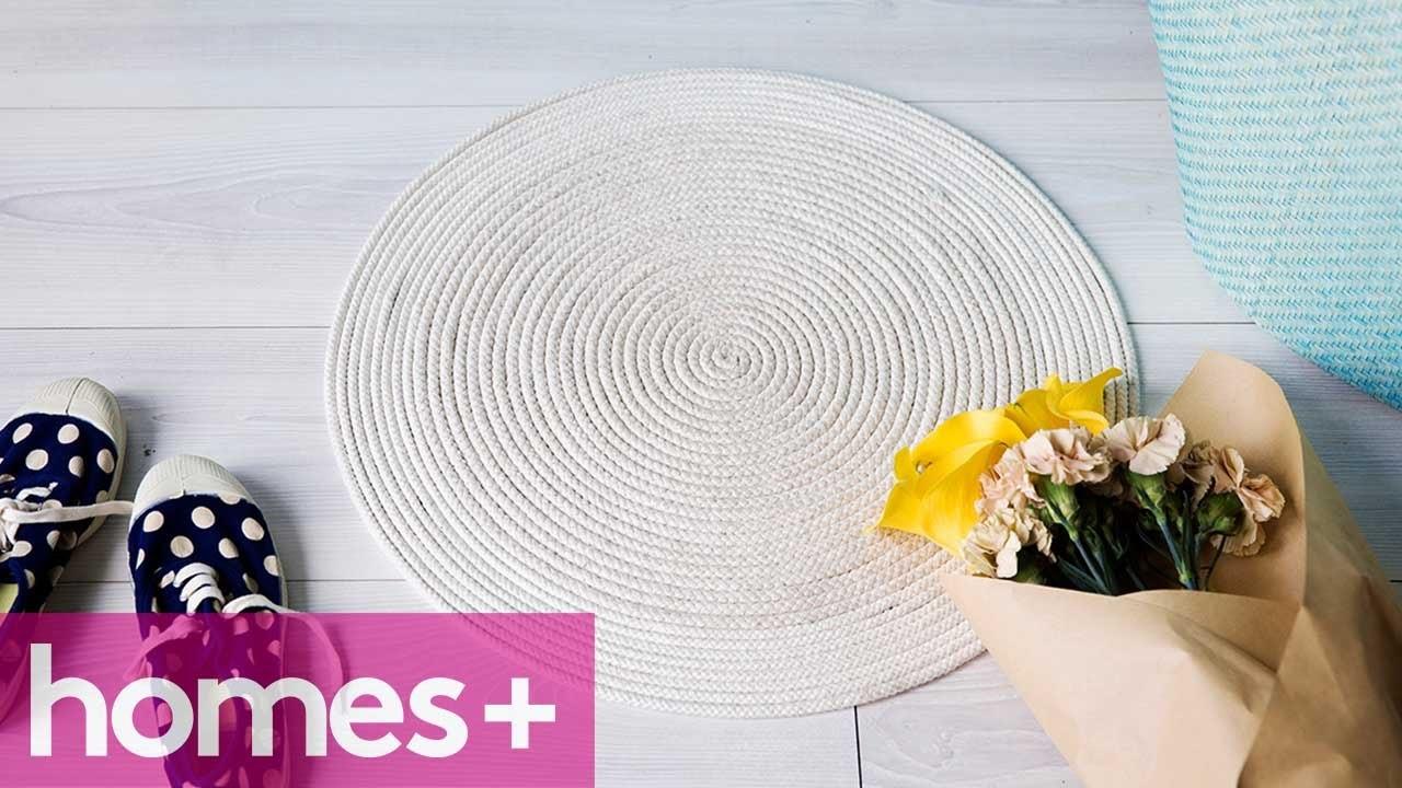 DIY PROJECT: Rope mat - homes+