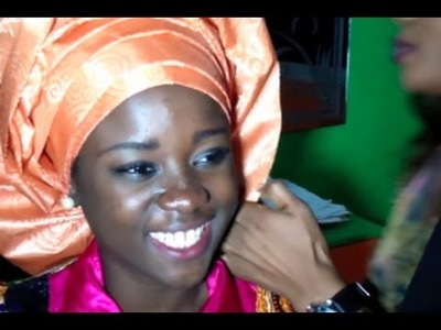 Fashion: how-to tie the best African Head-Wrap !!