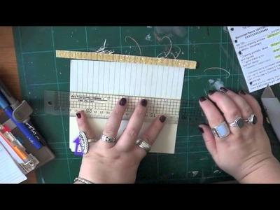 Filofax Friday - DIY Filofax Inserts & Midori Refill Booklets Pt1
