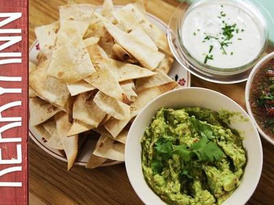 Homemade Nachos and Dips | Kerryann Dunlop