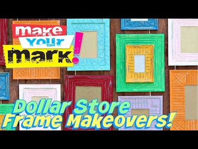 How to: Dollar Store Frame Makeover