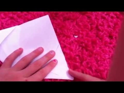 How to make a paper flower (american girl summer 2014)