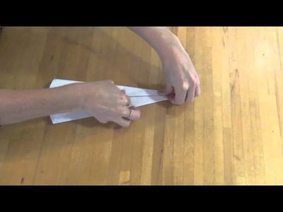 How to make a sleek traditional paper plane
