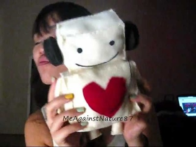 How to Make: Cute Kawaii Felt Toy Plushie (Listen to Your Heart Inspired)