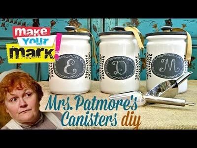 How to: Mrs. Patmore's Canisters DIY