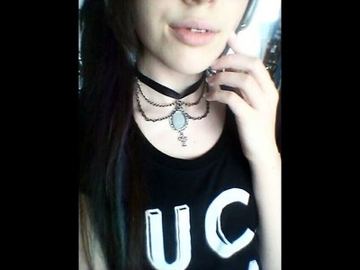 Inspiration for DIY|Gothic Choker Medallion