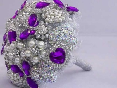 Learn how to make your own Wedding Brooch Bouquet