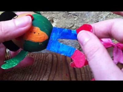 Make a REAL Humpty Dumpty Egg - Kids Craft