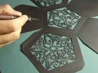 Paper Cutting Dodecahedron (part 1)