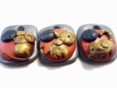 Polymer Clay Chinese Zodiac Charms