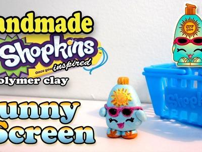 Season 1 Shopkins: How To Make Sunny Screen Polymer Clay Tutorial!