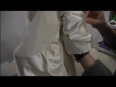 TR Cutting School in Milan- Students Project on TR Draping Technique