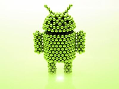 Android Mascot (tutorial) - Zen Magnets logo contest winner July 2013
