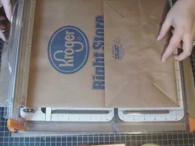 Bo Bunny Paper Bag Album- Part 1