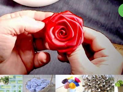DIY - How to Make Ribbon Rose