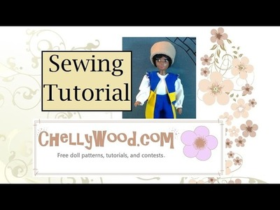 Easy Doll Hat Pattern and Tutorial