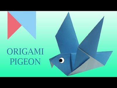 How to make Origami Pigeon Paper Folding