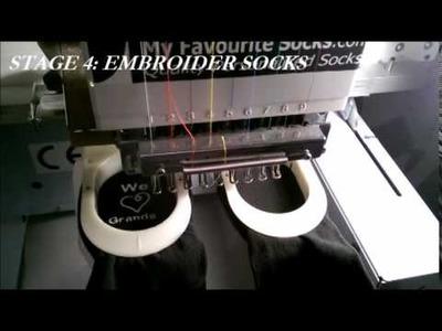 How to Make Personalised Socks
