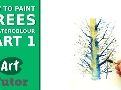 How to Paint Trees in Watercolour - Part 1